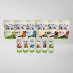 Feathered Friends Bird Seed & Bars Packaging
