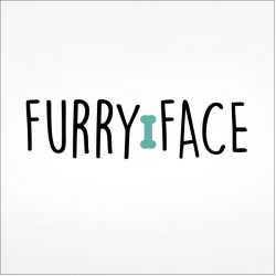 Furry Face Dog Logo