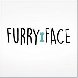 Furry Face Dog Logo