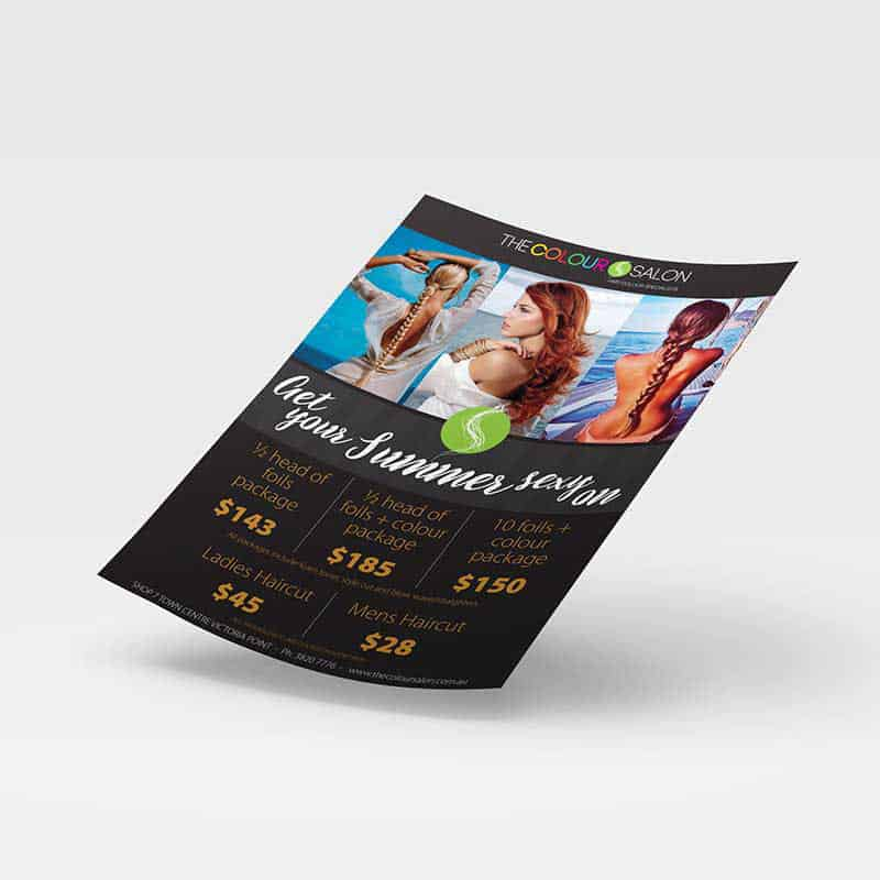 portfolio - flyer - printing - graphic design