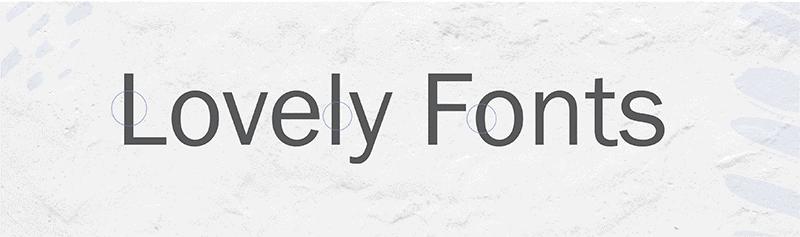 san-serif - branding design - font choices