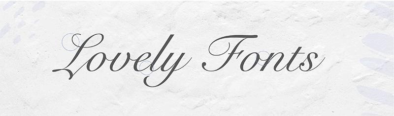 script - branding design - font choices